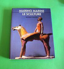 Marino Marini - Le sculture - Fabbri editori - Catalogo arte - Prima Ed. 1993