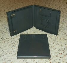 Nintendo DS - Standard Black Empty Replacement Video Game Cases / Boxes (X2)