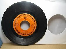 Old 45 RPM Record - Warner Bros 5612 - Petula Clark - I Know a Place / Jack and