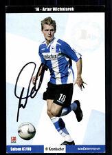 Artur Wichniarek Autogrammkarte Arminia Bielefeld 2007-08 Original Sign+ A 93371