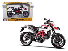 2013 DUCATI HYPERMOTARD SP WHITE 1/12 MOTORCYCLE DIECAST MODEL BY MAISTO 13015