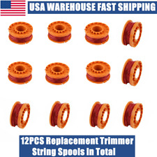 12Pcs Replacement Spool Line For Grass Trimmer/Edger for Worx Wa0010