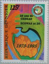 NIGER 1995 1167 862 Economic Community West African States ECOWAS MNH