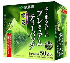 Itoen Ryokucha Green Tea Matcha Blend Premium Bag Ocha Pack of 50 From JAPAN