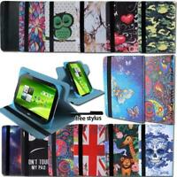 "For Acer Iconia 7"" 8"" Tablet - Smart Folio Leather Rotating Stand Cover Case"