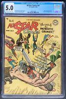 All Star Comics #41 DC Comics 1948 CGC 5.0