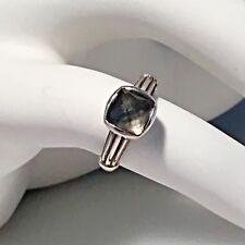 $295 LAGOS Venus MOP Doublet Sterling Silver Ring 7 NWOT