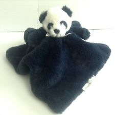 Blankets And Beyond Navy Blue Bear Security Blanket Lovey