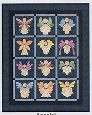 Angels! - fun applique & pieced quilt PATTERN - Sindy Rodenmayer