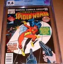 Spider-Woman #1 CGC 9.6 Marvel 1978 New Jessica Drew Origin Wolfman Infantino