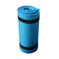 Colchoneta para Entrenamiento de Pilates 60X25X1.5Cm de Espesor Cojín de Ro L7F9