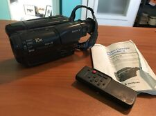 Sony Video Camera Recorder Camcorder Handycam CCD-TR70 Video 8 8mm