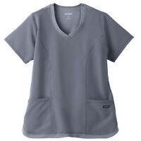 Jockey Women's 2401 Cool Mesh Shirttail 2 Pocket Top
