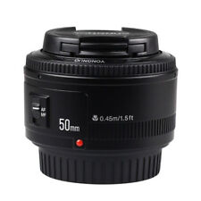 Yongnuo EF 50mm F/1.8 Auto Focus AF/MF Prime Standard Lens for Canon EOS & Gift
