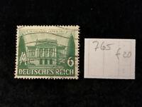 """Deutsches Reich 1941 - MiNr. 765  f  20.  Pf.  """"Farbfleck hinter 1941"""""""