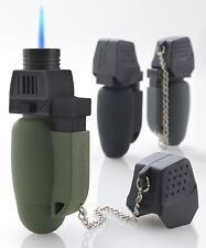 Turbo Flame Lighter/Blowtorch Gadget Original Colours & NEW Military Spec Rubber