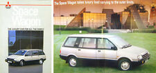 Mitsubishi Space Wagon 1986-88 Original UK Sales Brochure