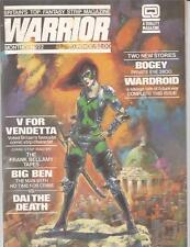 WARRIOR MAGAZINE (1982 Series) #22 Very Fine      V for Vendetta Big Ben