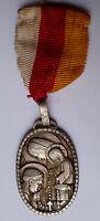 Médaille NOTRE DAME DE LOURDES PELERINAGE ROSAIRE br ORIGINAL French Medal order