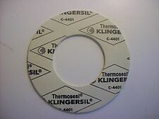 Thermoseal Klingersil 4401 Gasket Pipe Plumbing Ring .063 Thick QTY 20