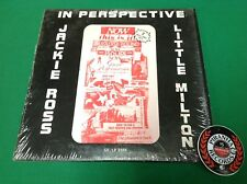 Jackie Ross Little Milton In Perspective Soul Funk USED Vinyl Piranha Records