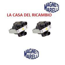 KIT 2 BOBINE MAGNETI MARELLI FIAT PUNTO 176 188 - 1.1 1.2 8V 1100 1200 BENZINA