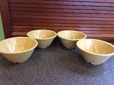 4 Vintage Halsey Bowls Cereal Melmac Melamine Spatterware USA Camping Mess Hall