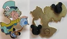 DLR Disney MAD HATTER Alice in Wonderland 2008 Annual Passholder Dining Pin LE