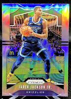 Jaren Jackson Jr 2019-20 Panini Prizm Silver Memphis Grizzlies No. 136