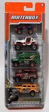 2012 MATCHBOX MOUNTAIN ADVENTURE 5-PACK 1968 TOYOTA LAND CRUISER FJ40 BEAR TOURS