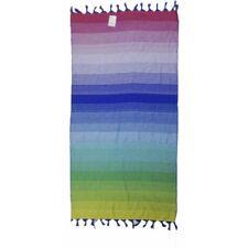Asciugamano Pareo Telo Mare Futa Jaquard Egiziano Rainbow 80x160 cm