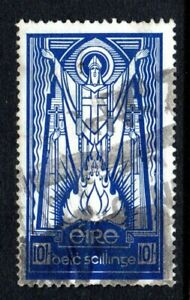 Ireland - Holy Patricus 10/  shilling blue - see scans