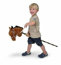 Melissa and Doug Deluxe Gallop-N-Go Stick Pony w/Sound , New, Free Shipping