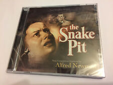 THE SNAKE PIT / THE THREE... (Newman) OOP Varese Score Soundtrack OST CD SEALED