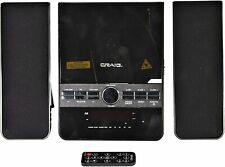 New Bluetooth Craig Shelf Stereo CD Player System Alarm USB/SD AM/FM Remote AUX