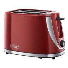Tostapane da cucina rosso per 2 fette