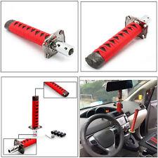 Universal 15cm Car Katana Samurai Sword Gear Shift Knob Shifter JDM Red & Black