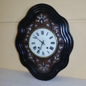 """antico orologio """" occhio di bue """" Napoleone III 1870 in francese"""