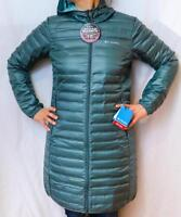 NEW COLUMBIA FLASH FORWARD LONG DOWN JACKET Women's S-M-L Puffy Hooded Parka