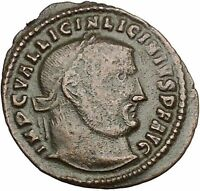 Licinius I Constantine The Great enemy 313AD Ancient Roman Coin Jupiter  i52604