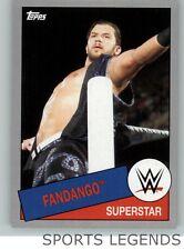2015 WWE Heritage silver #87 Fandango