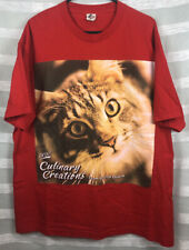 New listing Science Diet Culinary Creations Promotional Shirt Cat Graphics Purr Size Xl Meow