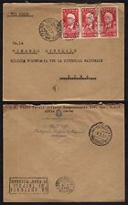 STORIA POSTALE Colonie AOI 1937 Lettera PA da PM 130E a Roma (GB1)