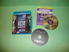 Captain Phillips (Blu-ray/DVD, 2014, 2-Disc Set)