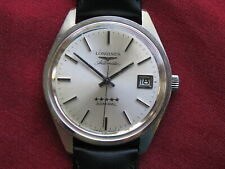 Longines 5 Star Admiral Vintage Stainless Steel Automatic Wrist Watch
