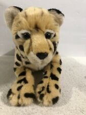 "FAO SCHWARZ CHEETAH LEOPARD CUB 14"" Plush Stuffed Animal Soft 2018"