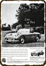 Austin Healey Porcelain Advertising Sign