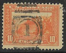 U.S. USED 400A     Perf 12 Orange Single as shown       (R6624)