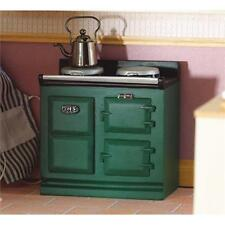 Green Aga Stove 12th Scale for your Dolls House Rustic Country Kitchen Emporium