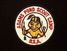 BOY SCOUT  ADAMS POND SCOUT CAMP EARLY 60'S PP  BOSTON CNCL